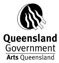 Queensland Government Arts QLD Logo
